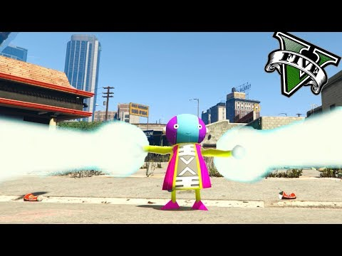 ZENO SAMA EN GTA 5 MOD | PODER ABSOLUTO | DRAGON BALL SUPER MOD GTA 5