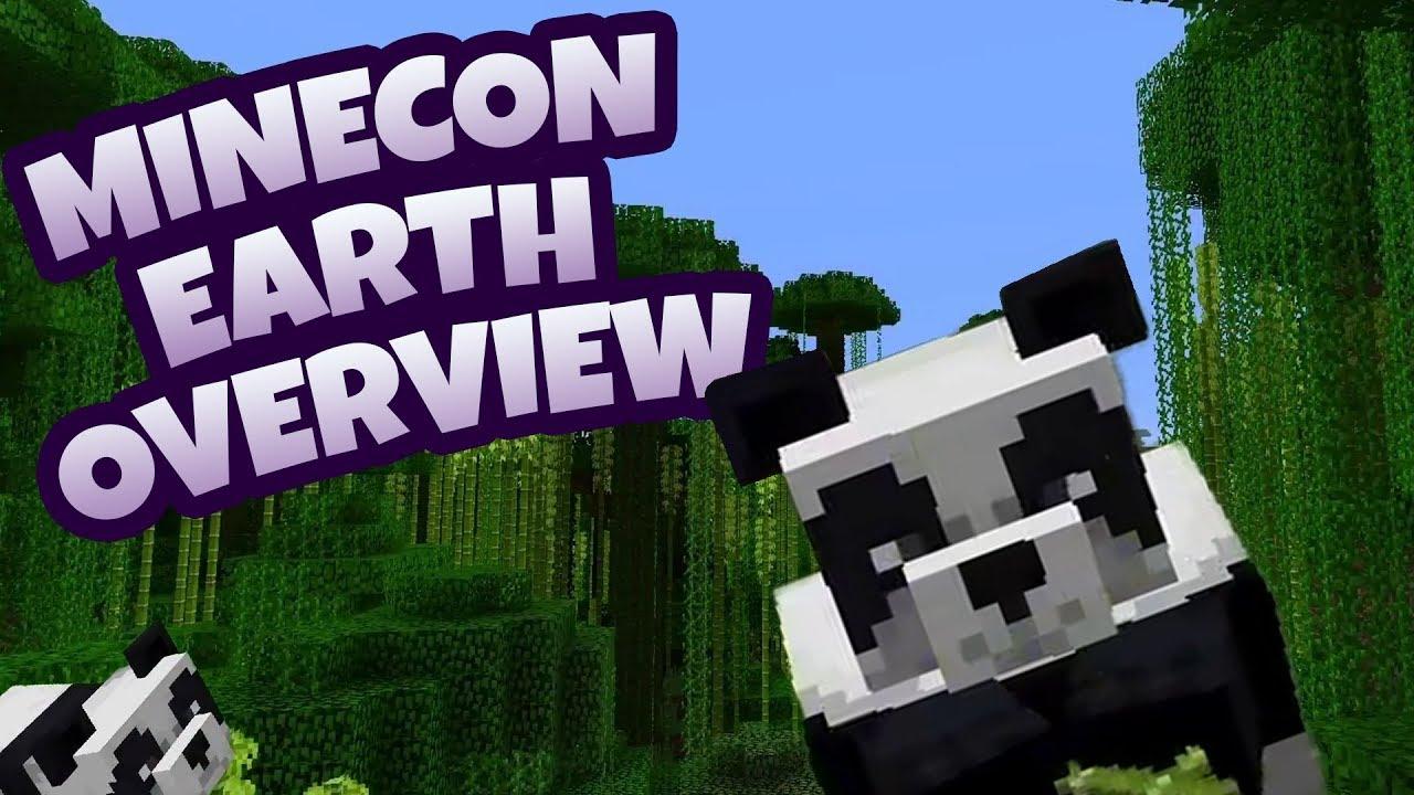 Minecon Earth Overview The Village Pillage Update Minecraft
