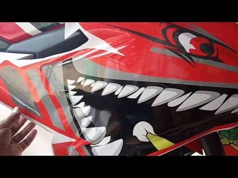 DECAL STIKER  CBR 150 BABY SHARK ..SANGAAAR