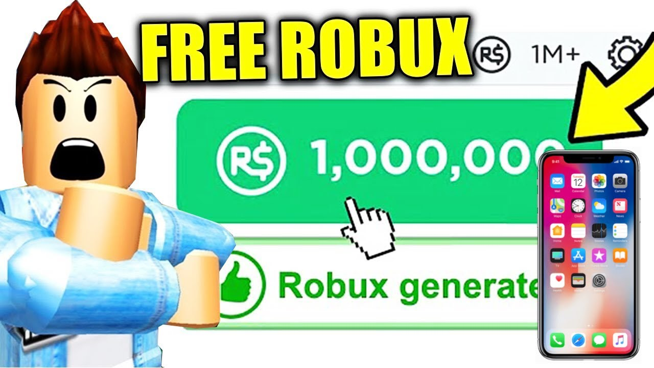 How To Get Free Robux On Mobile 2021 No Human Verification ...