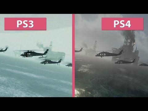 Call of Duty 4 Modern Warfare – PS3 Original vs. PS4 Remastered Graphics Comparison