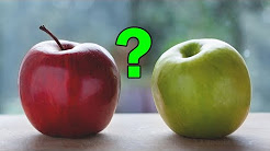 Green Apple vs Red Apple, Which is Better for Your Health?