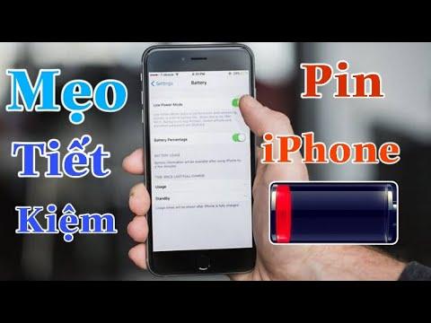 4 Cách giúp tiết kiệm pin cho iPhone hiệu quả nhất dùng cả ngày không hết | Tân tivi