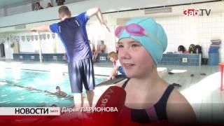 Шестикратный чемпион мира учит читинских детей плавать
