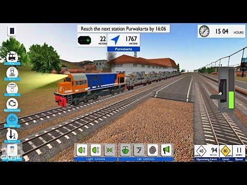 Heavy Tanker Transport Indonesian Train Simulator Android Gameplay