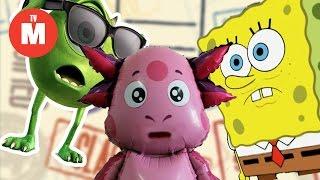 Для детей Спанч Боб ГУБКА БОБ - ШПИОН??? Spongebob Squarepants Квадратные Штаны ВИДЕО ДЛЯ ДЕТЕЙ