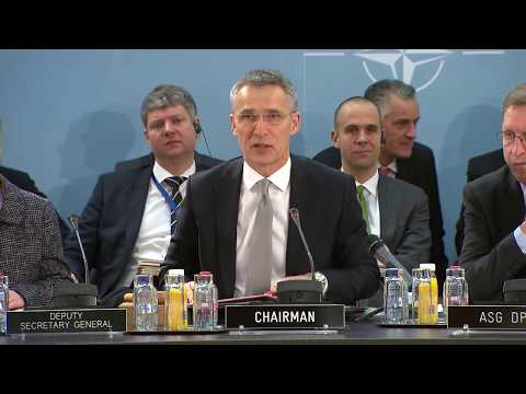 NATO Secretary General - North Atlantic Council at Defence Ministers Meeting, 15 FEB 2018