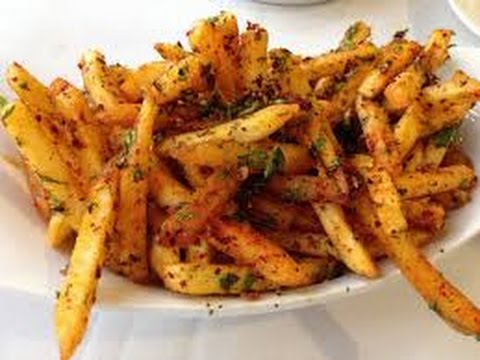 Masala French fries easy recipe. Homemade spicy French fries - YouTube