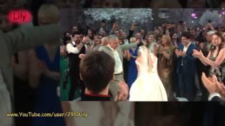 Бородина Танцует Лезгинку на своей Свадьбе с Курбаном Омаровым!