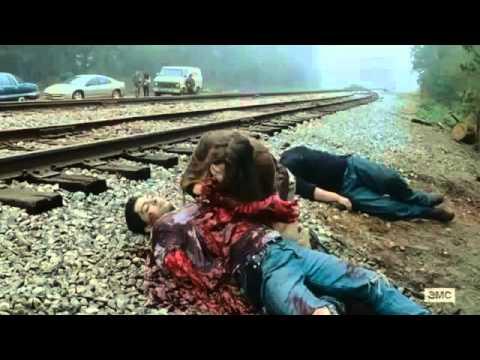 The Walking Dead 6x15 - Glenn & Rosita Looking For Daryl
