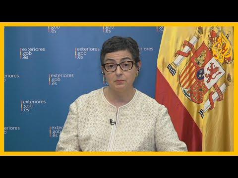 وزيرة الخارجية الإسبانية للجزيرة: إسبانيا كبلد متوسطي تريد أن ترى حوارا بين الفرقاء في ليبيا  - نشر قبل 3 دقيقة