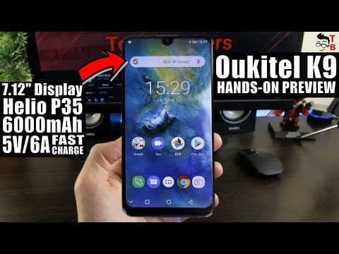OUKITEL K9: This PHABLET Supports 30W Fast Charging! PREVIEW