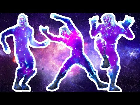 Fortnite All Dances Season 1-6 with GALAXY Updated to Spike It