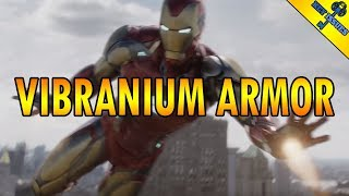Is Iron Man's Endgame Mark 85 Armor Made of Vibranium?