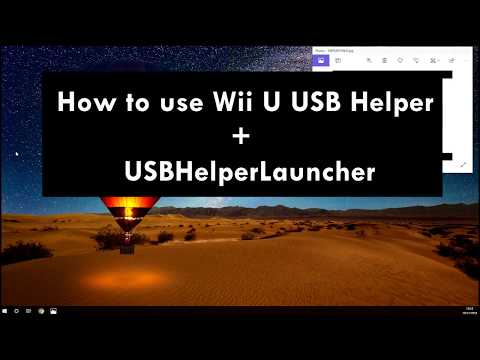 How To Install Wii U Usb Helper To Download Games and