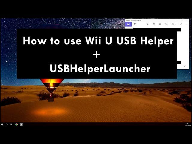 WII U USB Helper & USBHelperLauncher Tutorial Late 2018 – Gamingstar net