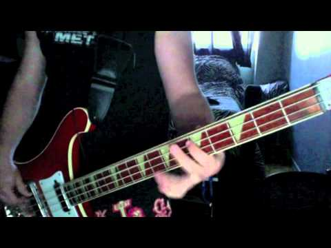 Metallica - No Remorse - Bass Guitar cover