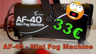 Une Machine à Fumée à 33€ ! 😵 Stairville AF-40 Mini Fog Machine ✅