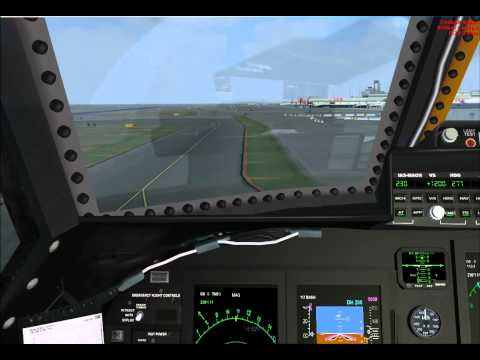 USAF AIR NATIONAL GUARD C-5 GALAXY - TAXI & TAKE OFF