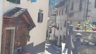 Природа в  Италии Доломиты местность Карника