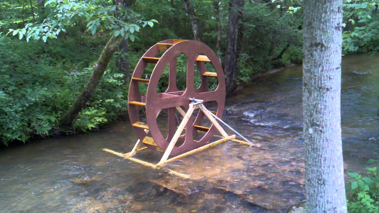 8ft spiral pump water wheel youtube