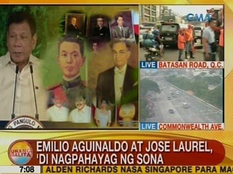 UB: Emilio Aguinaldo at Jose Laurel,