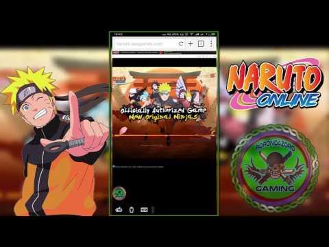 Cara Main Naruto Online Di Smartphone Android
