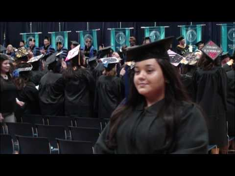 Coastal Bend College Commencement Spring 2017, Afternoon Ceremony