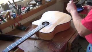 waterborne guitar finish