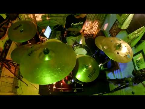 CROWN OF RAGE 'Back To The Asylum' Drum Playthrough
