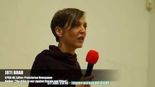 Imperialism on Trial – Joti Brar