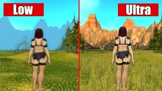 WoW - Highest vs Lowest Graphics