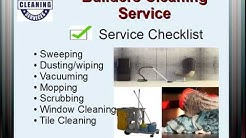 Cleaning Support Services - Builders Cleaning Services