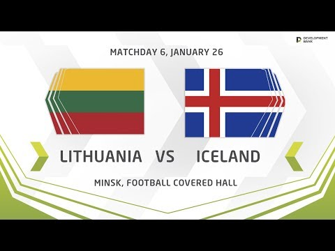 Development Cup - 2018. Lithuania - Iceland