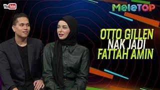 Otto Gillen nak jadi Fattah Amin?! | MeleTOP | Nabil & Neelofa