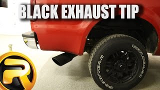 how to install go rhino exhaust tips