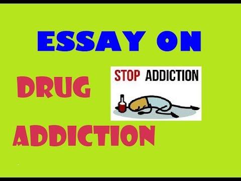 paragraph / essay on drug addiction Speech on drug addiction