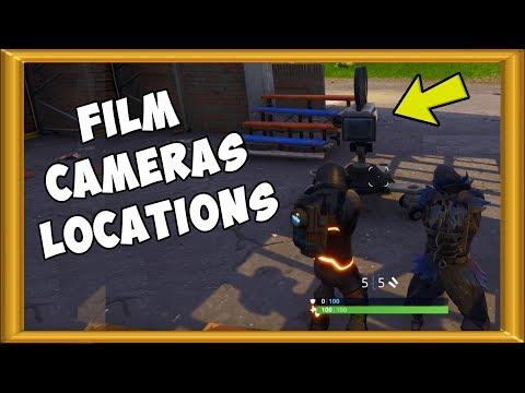 Fortnite Film Camera Locations Guide | Season 4 Week 2 Challenge