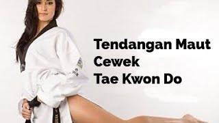 Ciaat... Tendangan Maut Cewek Tae Kwon Do