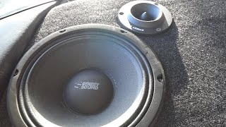 STREET SOUND MDB-BLACK80 + TW-WHITE 20F (прослушка)