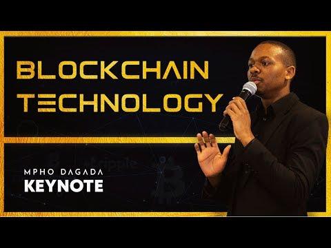 Mpho Dagada | Blockchain Keynote