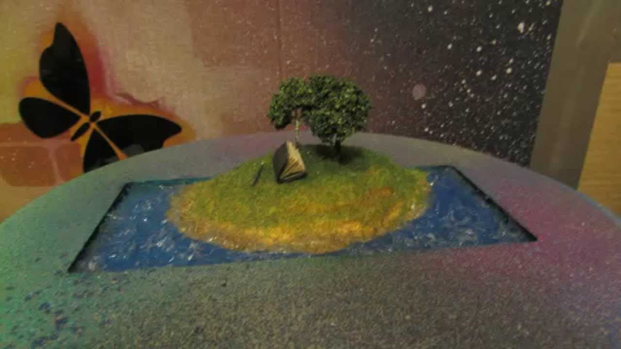 Диорама дерево своими руками