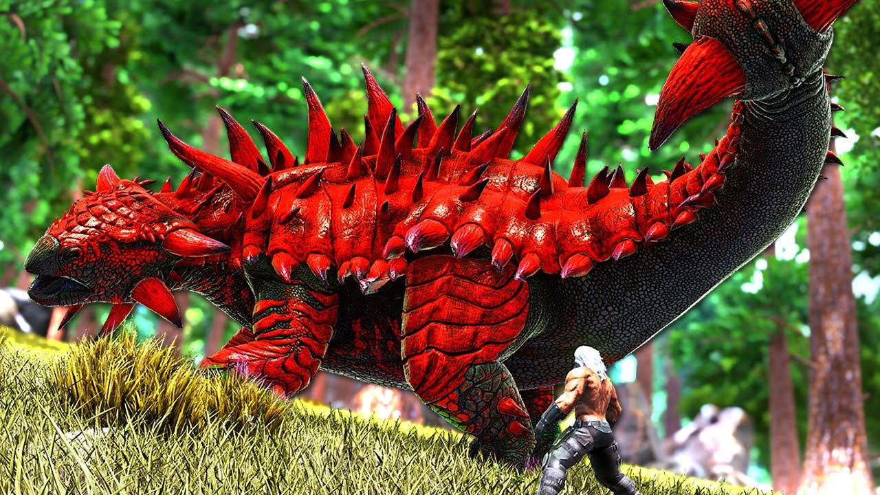 The Journey to Tame the ULTIMATE KNOCKOUT DINO!   ARK O-MEGA Modded #32