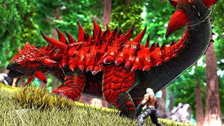 The Journey to Tame the ULTIMATE KNOCKOUT DINO  ARK O-MEGA Modded 33