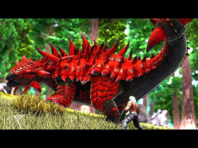 The Journey to Tame the ULTIMATE KNOCKOUT DINO! | ARK O-MEGA Modded #33