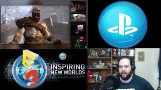 God Of War  - Sony Press E3 Conference 2016 Reaction (part 2)