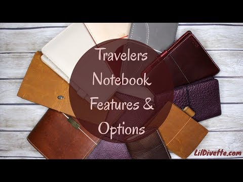 Travelers Notebook Features and Options - TN Video Series