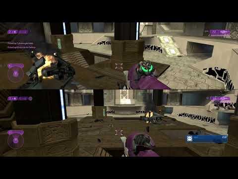 Angel & Kuren play Sacred Icon! - Halo 2 Legendary