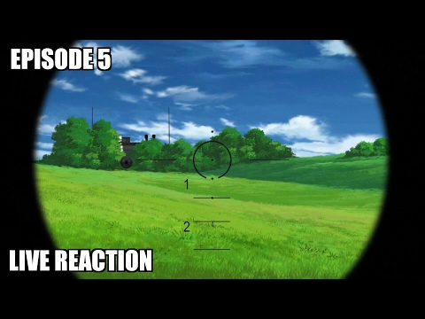 Girls Und Panzer Episode 5 Live Reaction