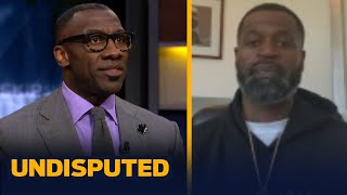 Stephen Jackson shares his emotions on the morning of George Floyd's funeral | UNDISPUTED